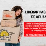 Liberar paquete de aduana